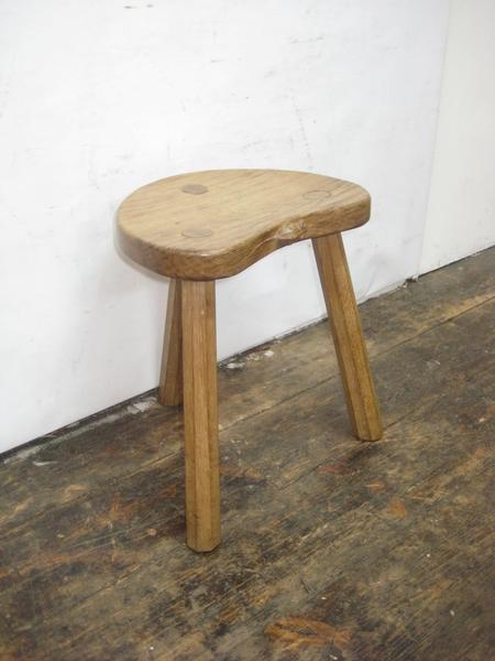 Surprising Mouseman Carved Oak Calf Stool Pdpeps Interior Chair Design Pdpepsorg