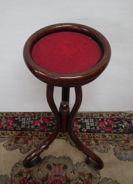 Antique Small Bentwood Stand