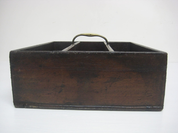 Antique George IV Mahogany Cutlery Box