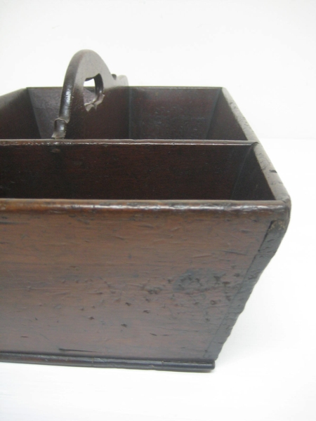 Antique George IV Mahogany Butlers' Cutlery Carrier