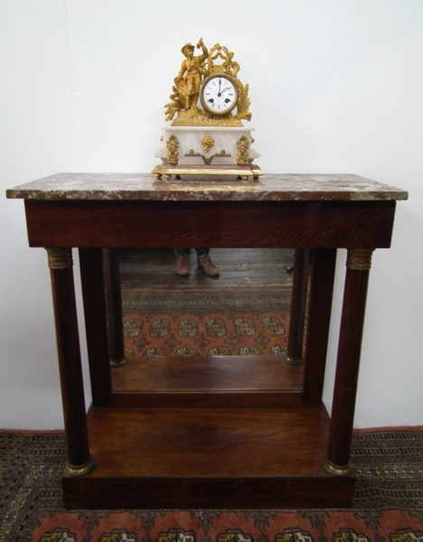 George IV Marble Top Rosewood Pier Table