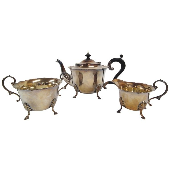 3 Piece EPNS Tea Set