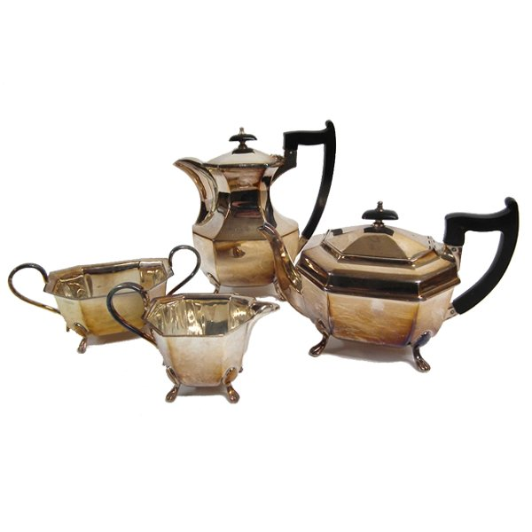 4 Piece EPNS Tea and Coffee Set