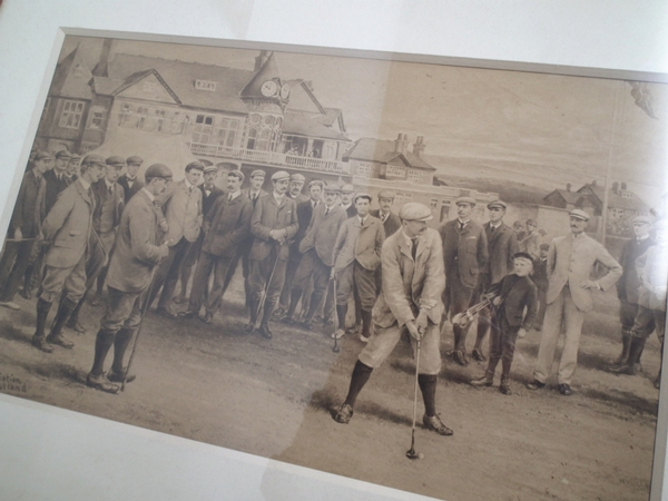 Antique Series of 8 Life Association of Scotland Golf Prints