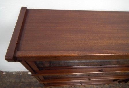 Antique Pair of Mahogany Sectional Bookcase