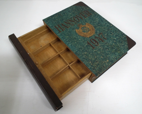 Antique Wooden Box Imitation of a Book