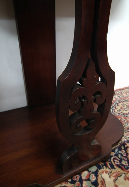 Antique Early Victorian Mahogany Hall Stand