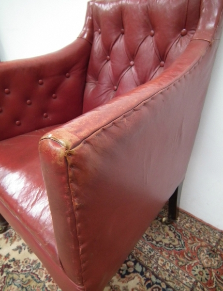 Antique George IV Library Chair