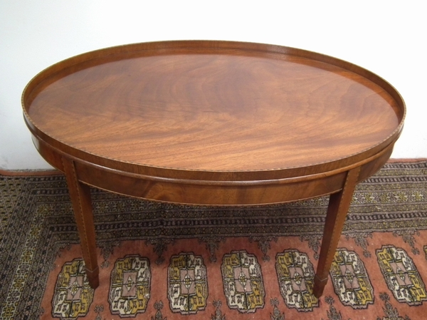 Antique George III Style Tray Top Coffee Table