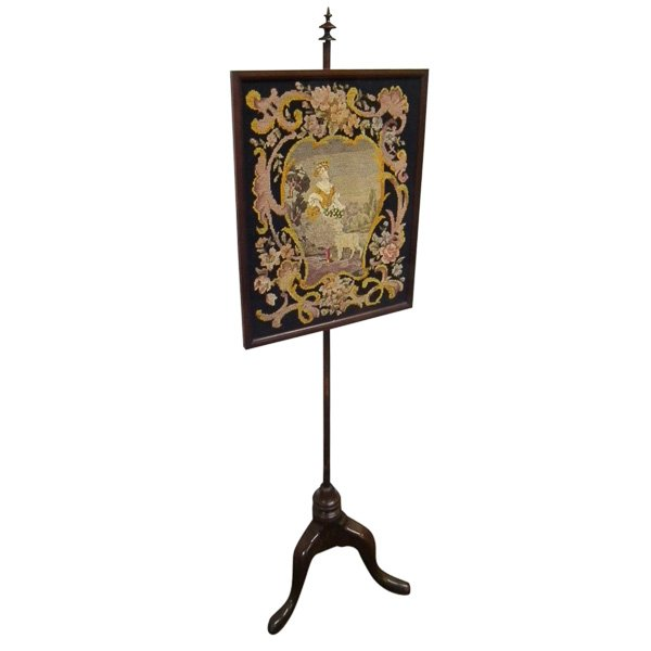Antique 19th Century Fire Screen