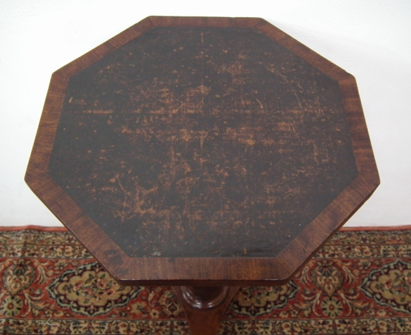 Antique William IV Octagonal Table