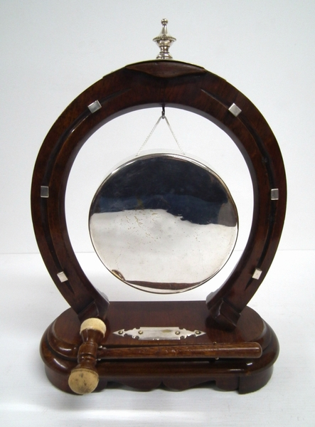 Antique Tabletop Dinner Gong