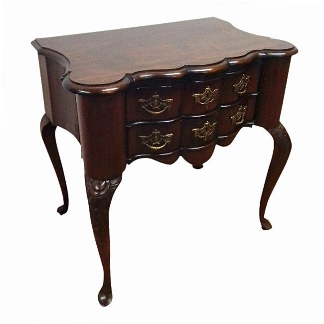 :SALE: Georgian Style Dutch Block Front Lowboy