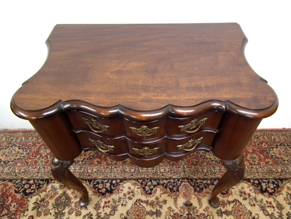 Antique :SALE: Georgian Style Dutch Block Front Lowboy