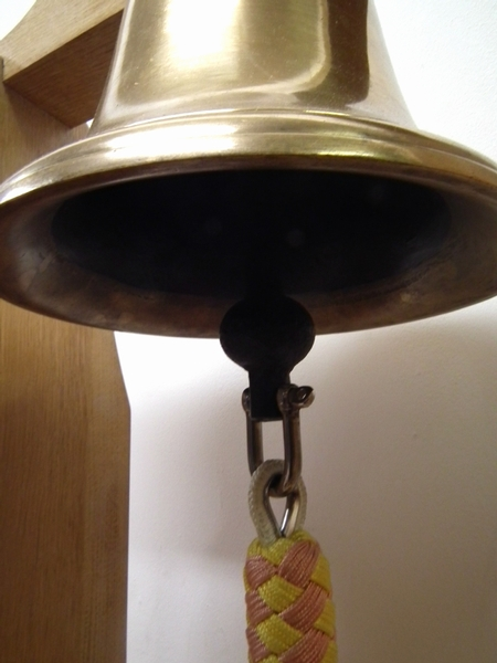 Antique Cast Brass Ships Bell