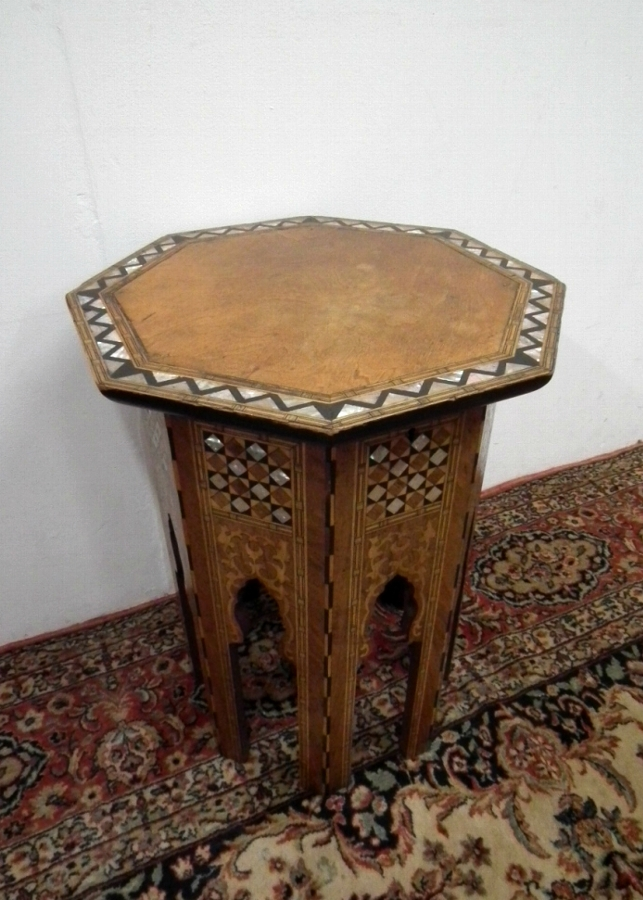Neat Sized Octagonal Occasional Table