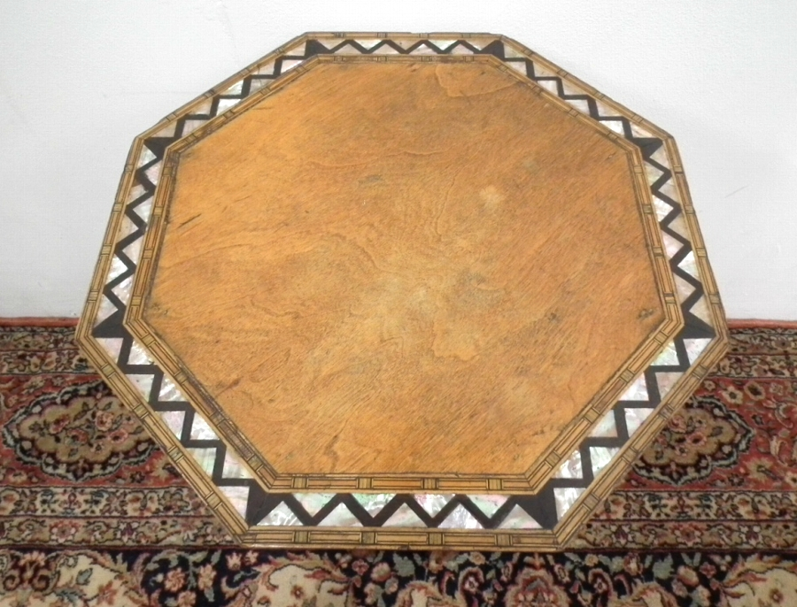 Antique Neat Sized Octagonal Occasional Table