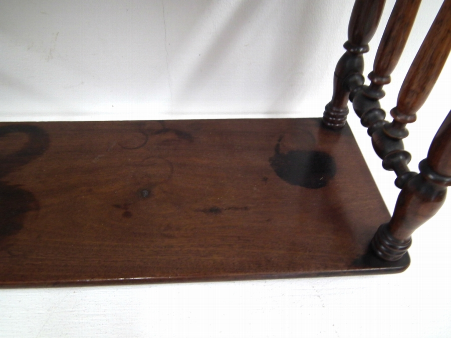 Antique Spanish Mahogany Wall Shelves