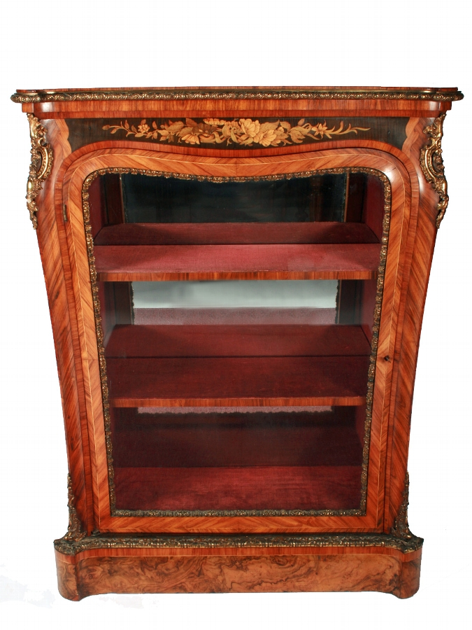 Exhibition Quality Victorian Pier Cabinet