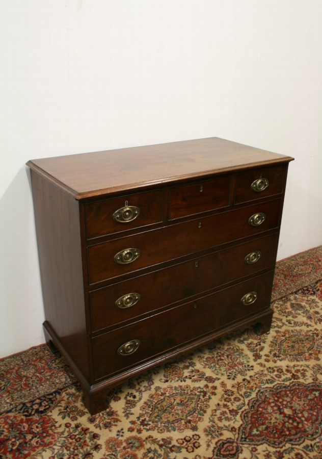 Late George III Mahogany Chest of Drawers