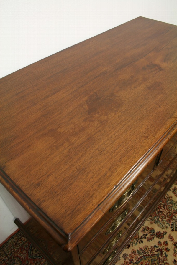 Antique Late George III Mahogany Chest of Drawers