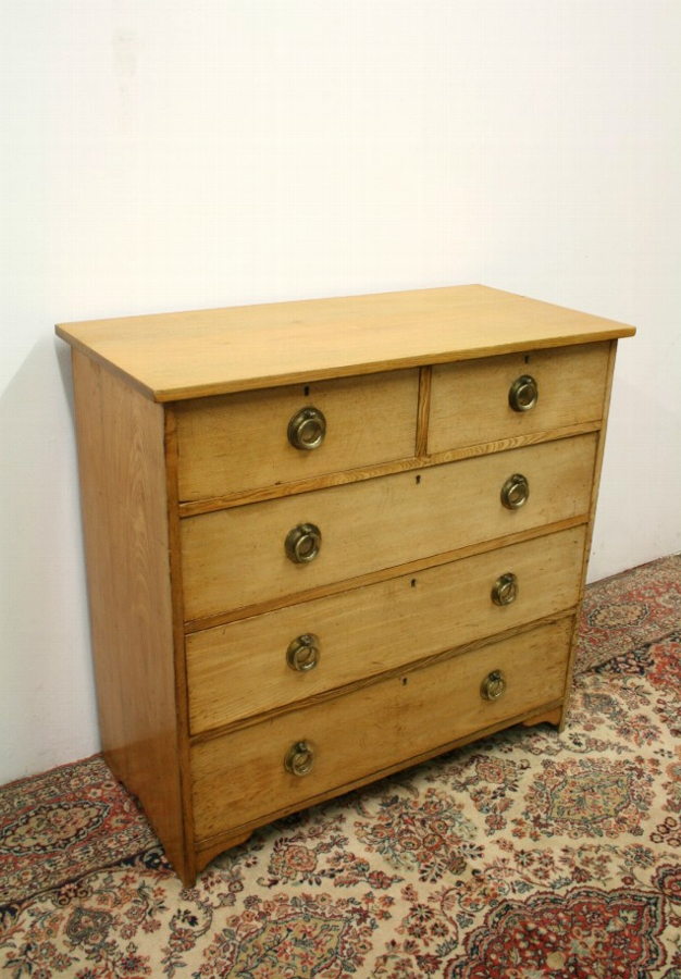 Arts & Crafts Style Ash Chest of Drawers