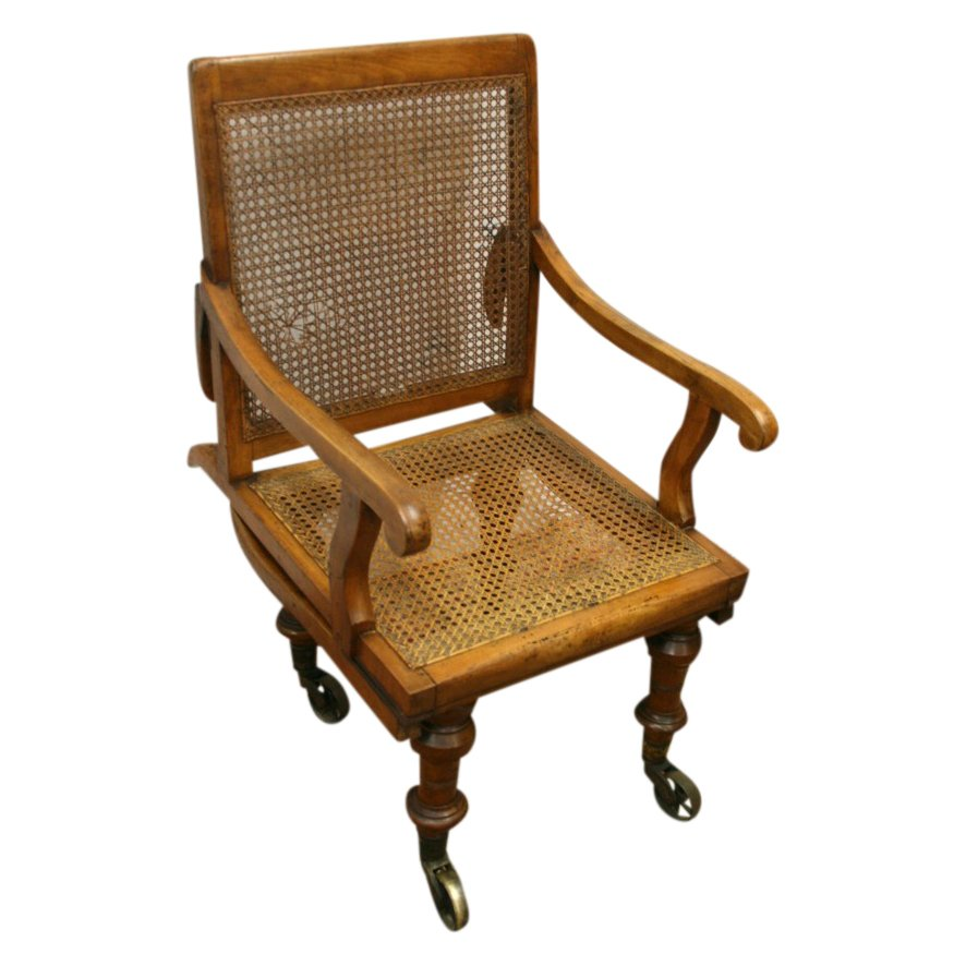 Early Victorian Bergere Sedan Chair