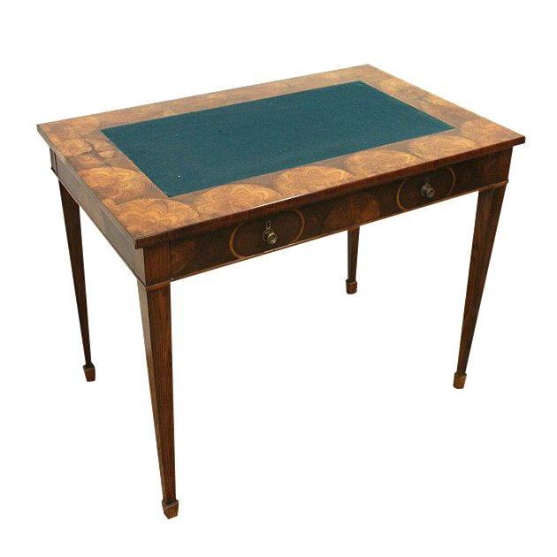 Early 19th Century Specimen Wood Writing Table