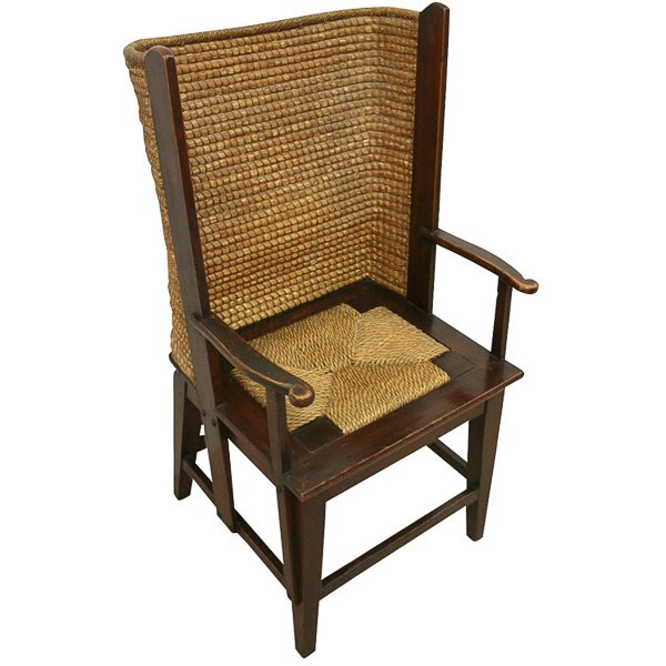 Stained Pine Orkney Chair