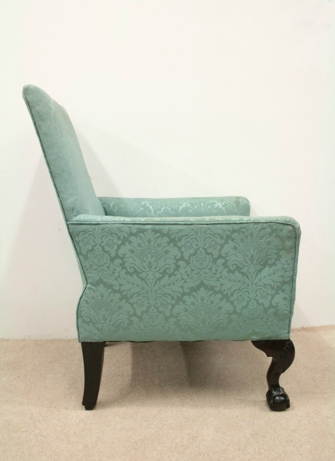 Antique George III Style Easy Chair