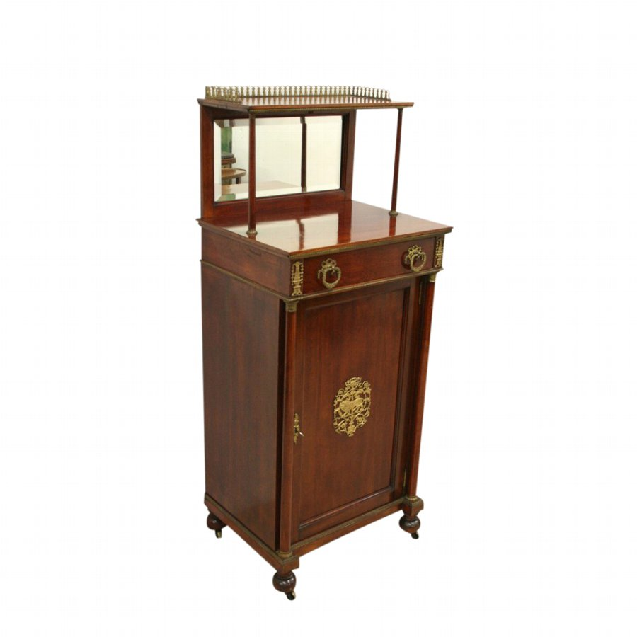 French Neat Sized Mahogany Chiffonier