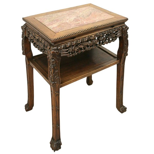 Large Rectangular Chinese Side Table