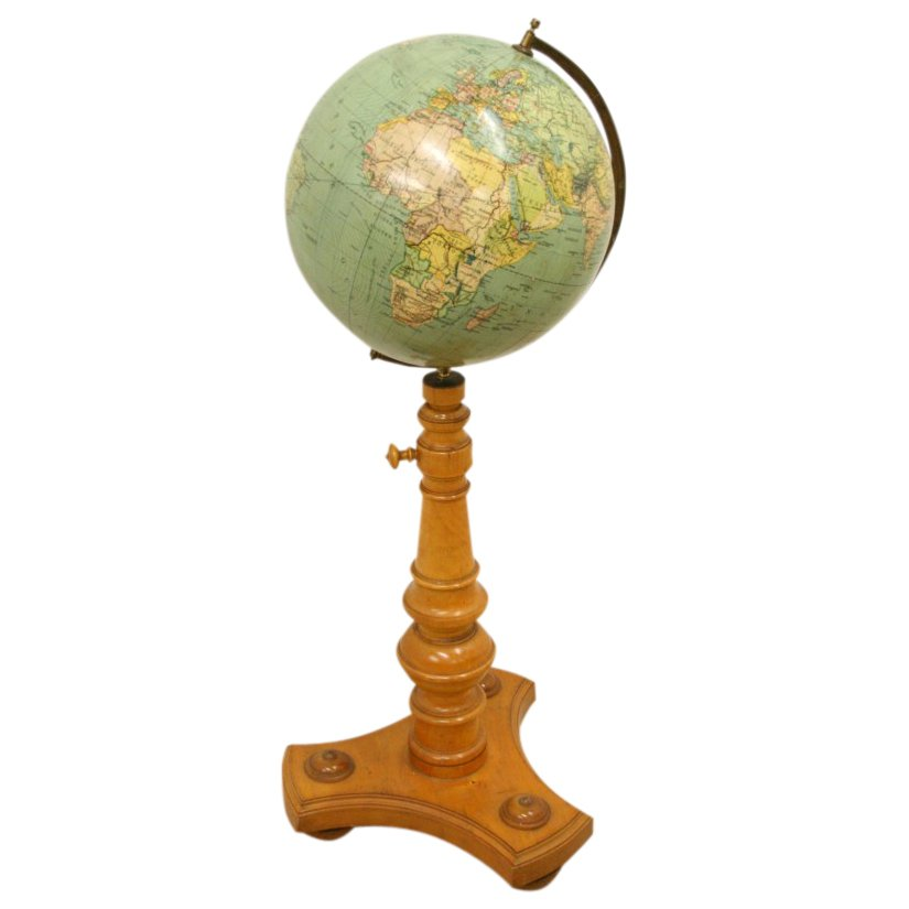 Norwegian Globe on Stand