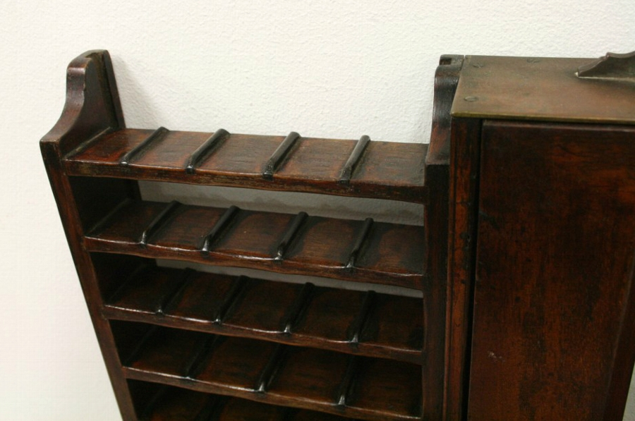 Antique Mahogany Ticket Dispenser