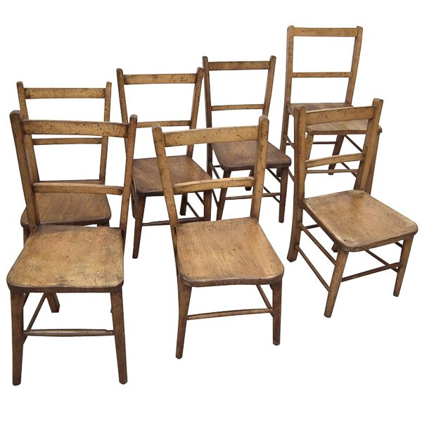 Various Children's Nursery Chairs/Church Chairs