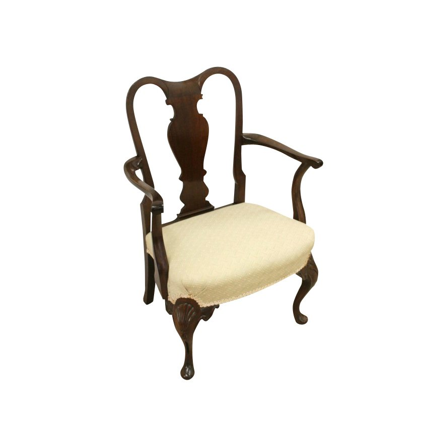 George II Style Mahogany Child's Chair