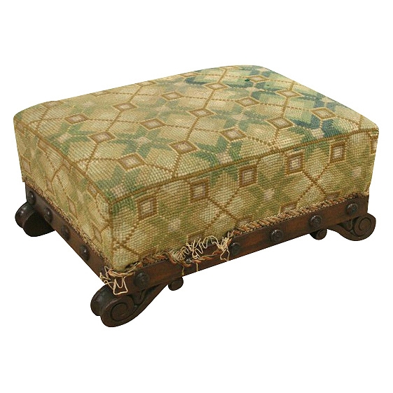 George IV Mahogany Foot Stool