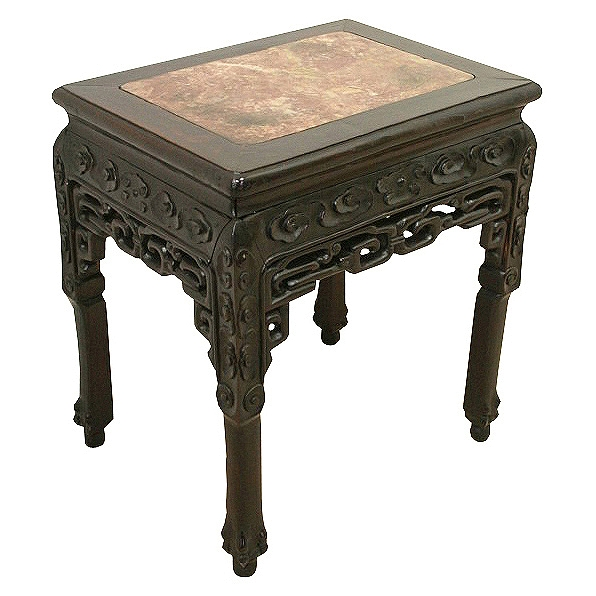 Chinese Carved Hardwood Table