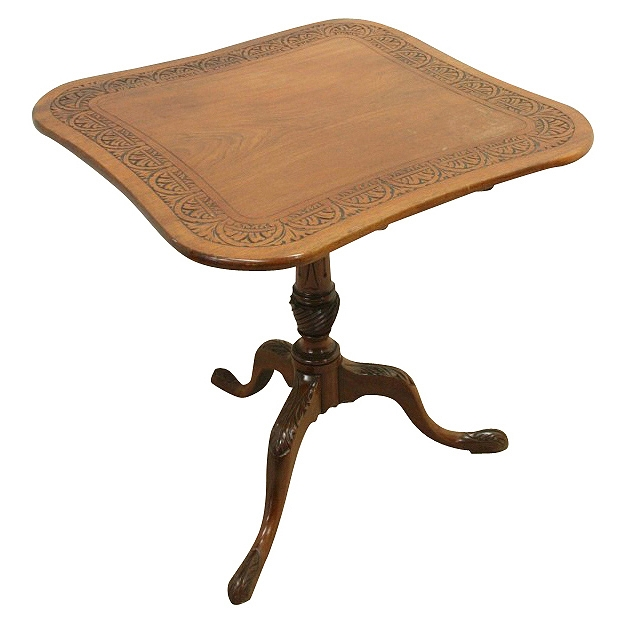 George III Snap Top Occasional Table