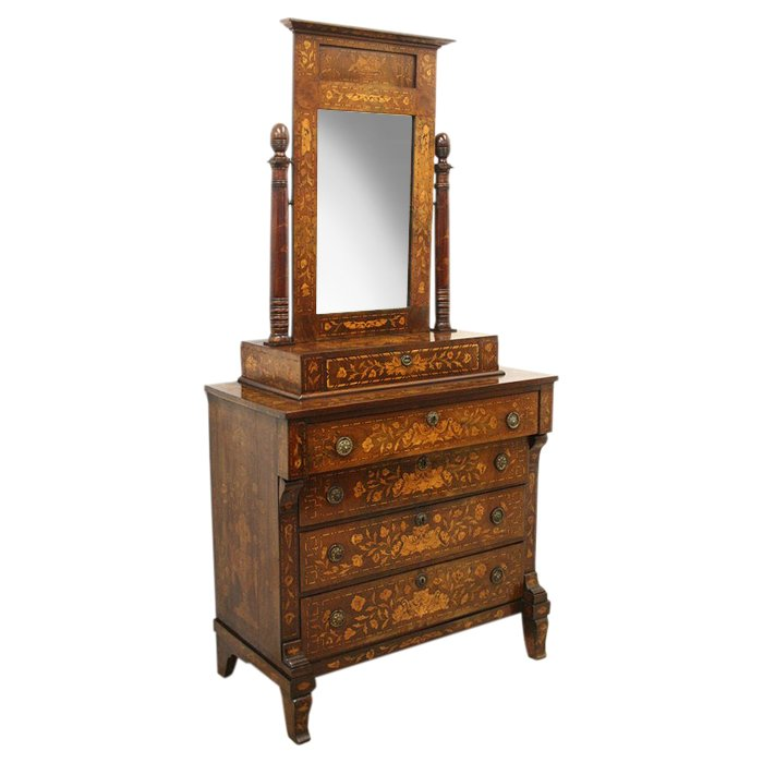Dutch Marquetry Dressing Table