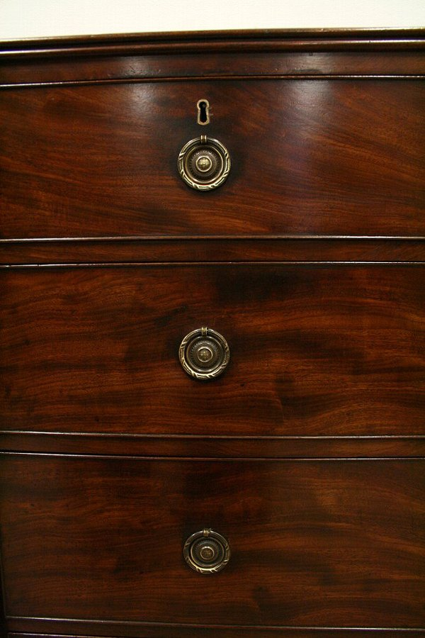 Antique Scottish George III Mahogany Chest of Drawers
