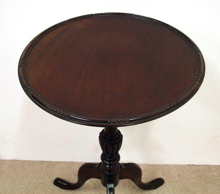 Antique George III Style Mahogany Occasional Table