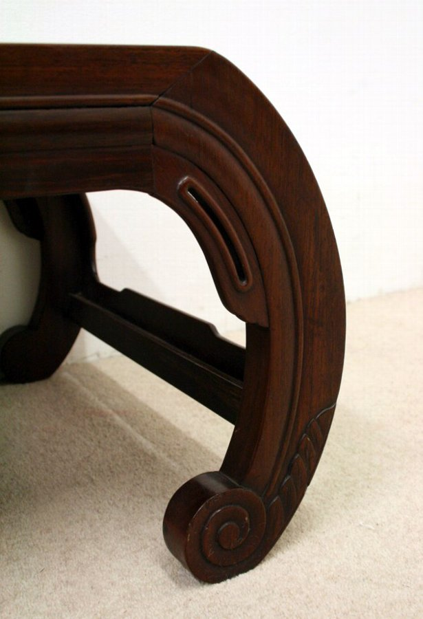 Antique Chinese Rosewood Kang Table