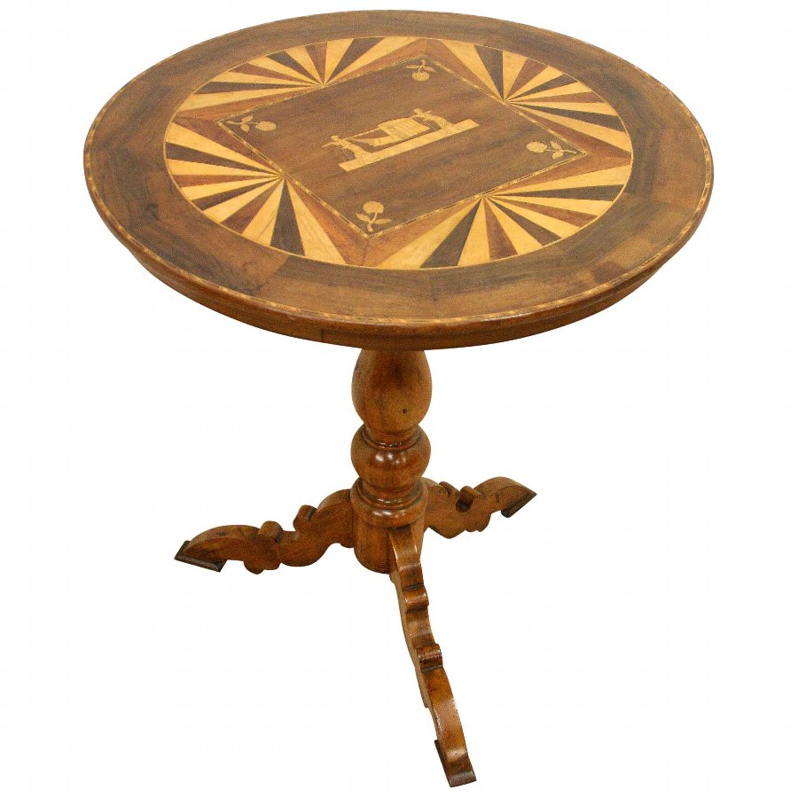 Italian Snap Occasional Table