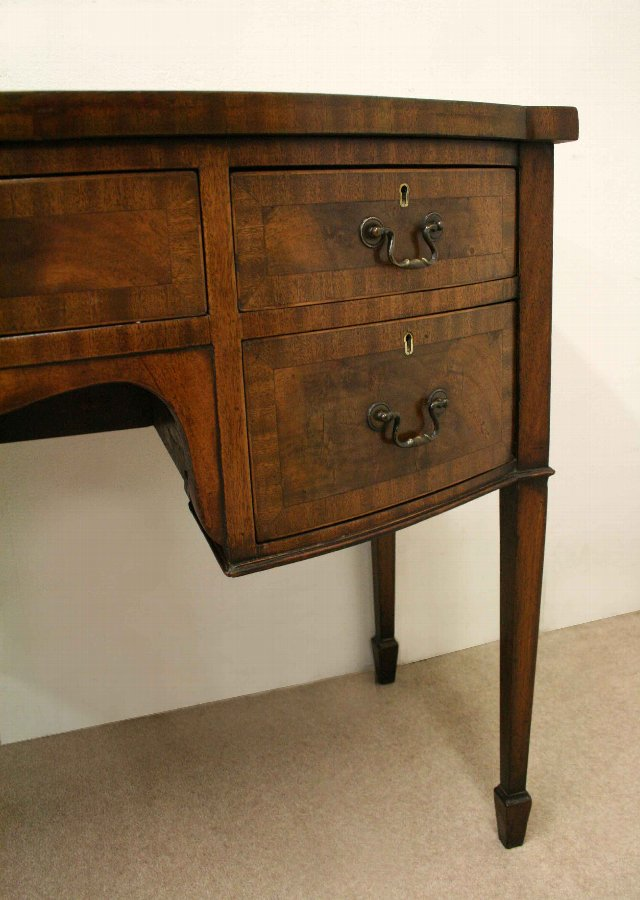 Antique Georgian Style Mahogany Dressing Table/Side Table