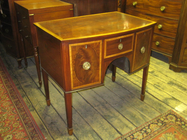 :SALE: George III Bowfronted Sideboard