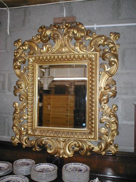 Antique Italian Rococo Style Wall Mirror Antiques Co Uk
