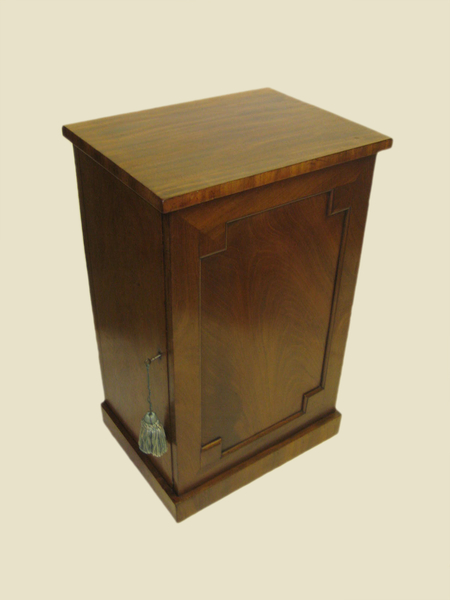 William IV Large Mahogany Locker