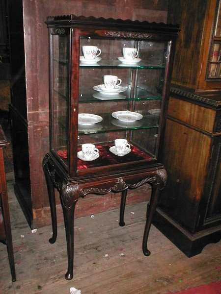 Chippendale Style Cabinet On Stand