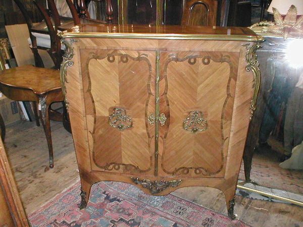 Antique French Kingwood Cabinet